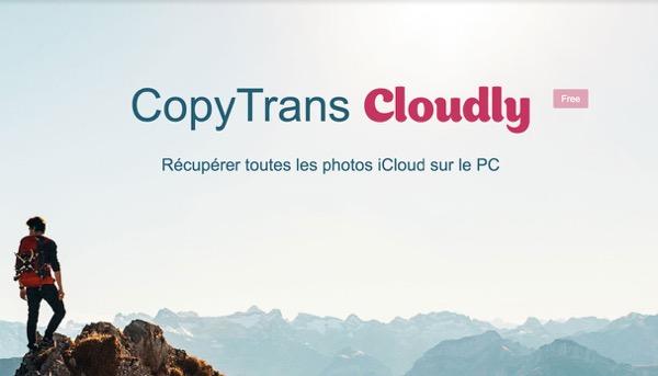 revue logiciel copytrans cloudy infoidevice