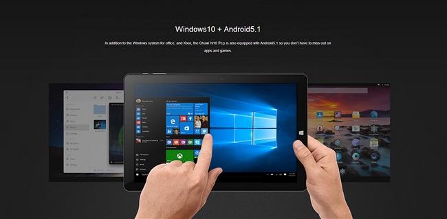ultrabook chuwi hi10 pro tablette tactile