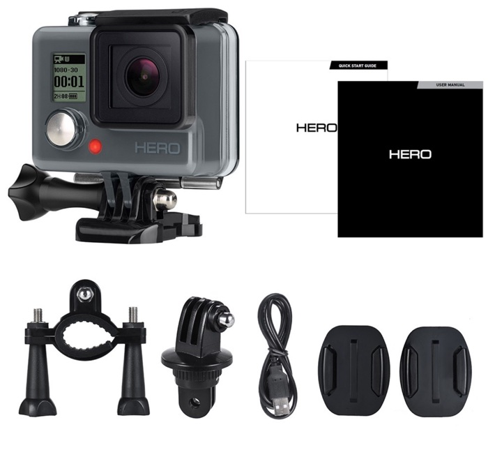 accessoires camera gopro hero chdha-301 originale