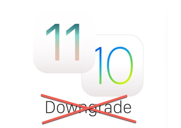 apple stop signature ios 10.3.3 et ios 11