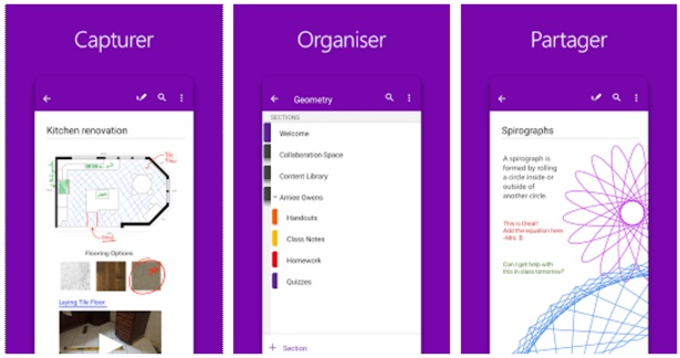 application onenote android