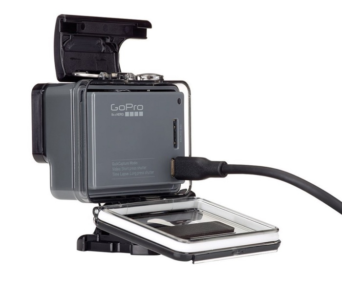 camera gopro hero chdha-301 originale avec boitier etanche