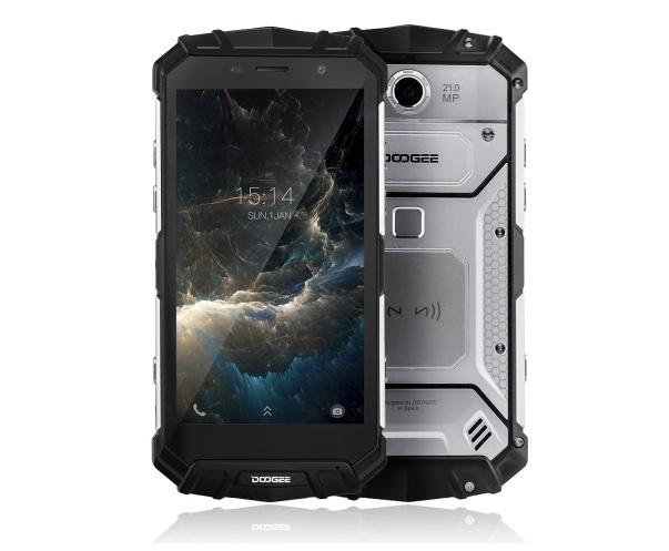 doogee s60 4g smartphone 5.2 pouces ip68 etanche ram 6 go + stockgae 64 go