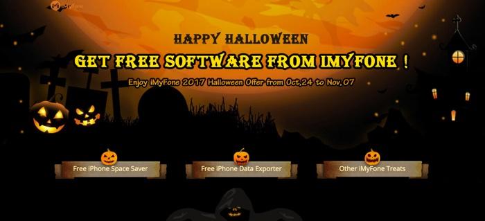 imyfone umate et imyfone d-port gratuits pour halloween