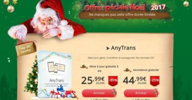 offre speciale noel anytrans mac windows