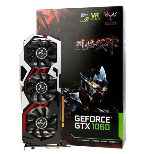 promo carte graphique colorfull nvidia geforce gtx igame 1060