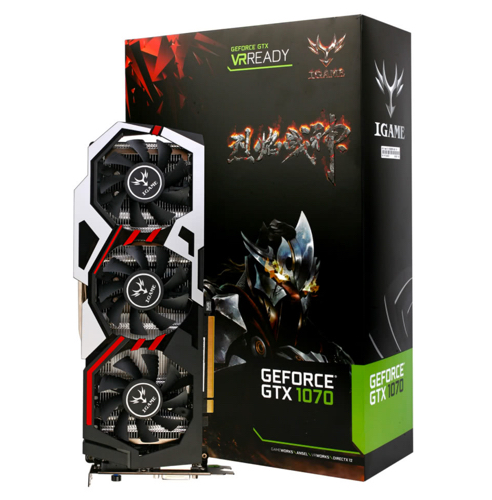 promo carte graphique colorfull nvidia geforce gtx igame 1070