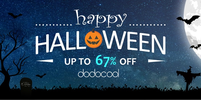 promotion halloween dodocool 2017