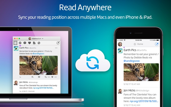 screenshot twiterrific 5 mac