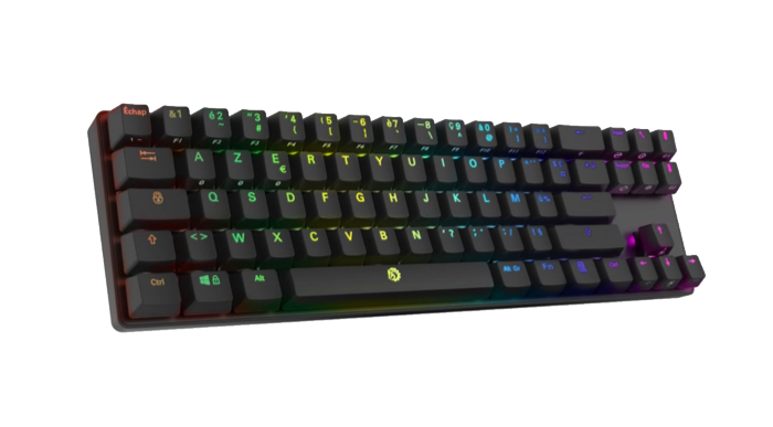 test clavier bluetooth drevo calibur 72 rgb backlit