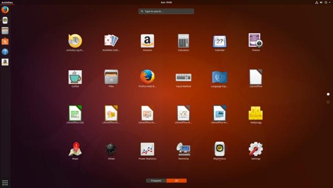 ubuntu 17.10 gnome shell