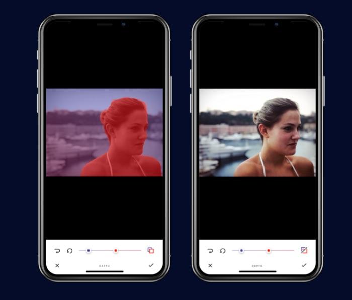 infltr ajoute les filtres sur les photos avec iphone x