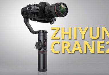 promotion stabilisateur zhiyun crane 2