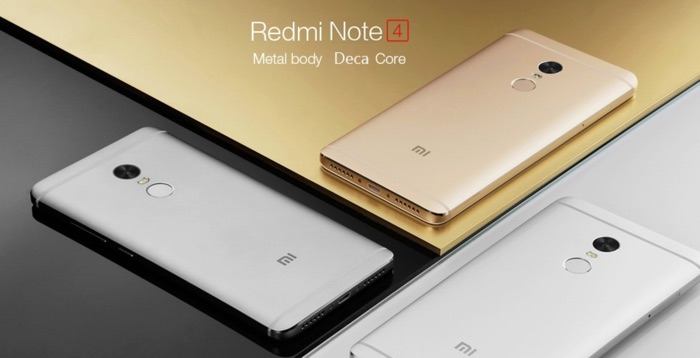 promotion xiaomi redmi note 4