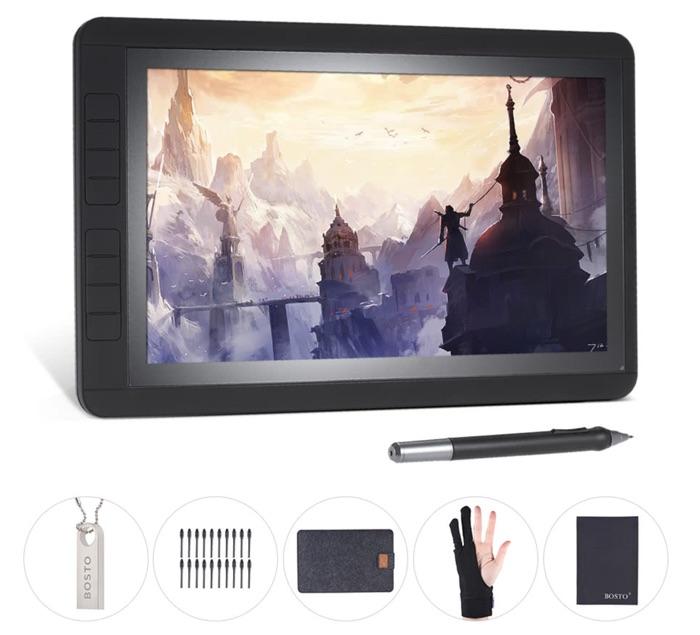 accessoires tablette graphique bosto 13hd