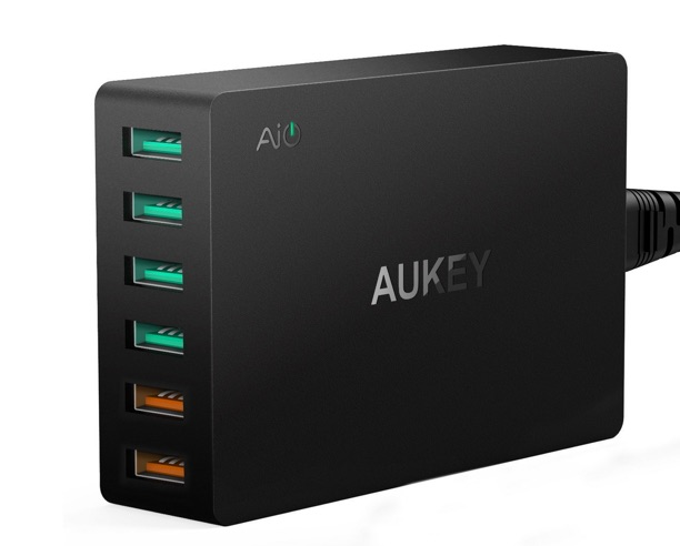 chargeur rapide aukey