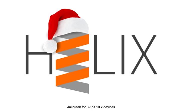 h3lix jailbreak ios 10.x