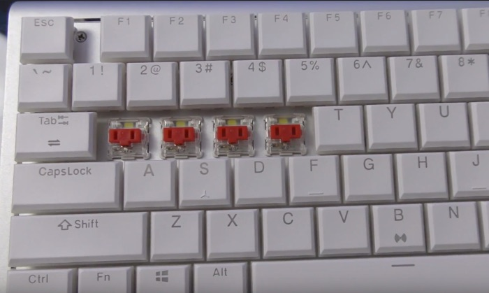 modification touches clavier drevo joyeuse
