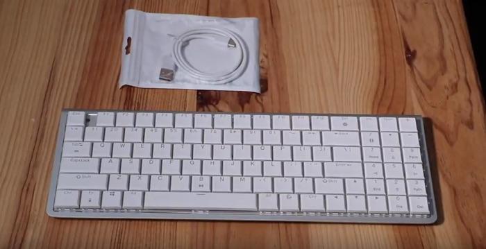 test clavier mecanique drevo joyeuse bluetooth retroeclairage