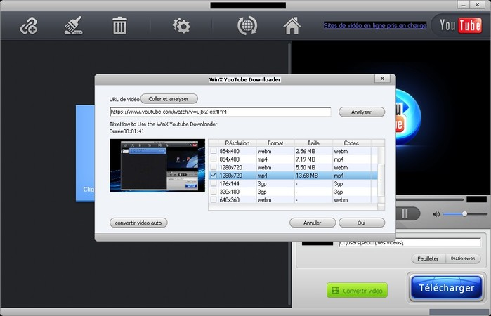 tuto telecharger video youtube downloader