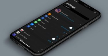 activer mode sombre avec tweak eclipse iphone x