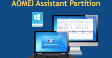 aomei assistant partition windows 10
