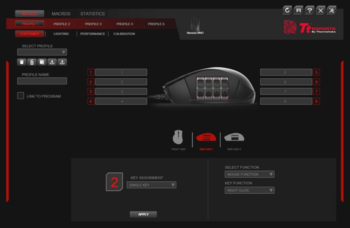 logiciel command center pro souris nemesis switch rgb