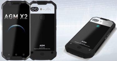 smartphone android etanche agm x2 se
