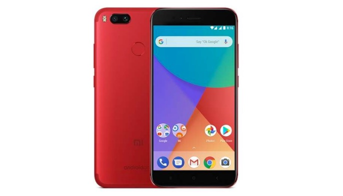 xiaomi mi a1 version rouge