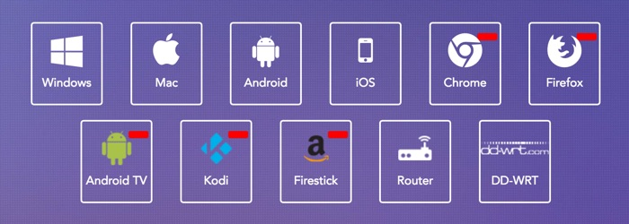 applications et extensions purevpn