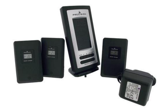 deballage thermometre precision radio controle