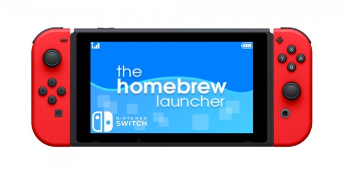 homebrew launcher nintendo switch firmware 3