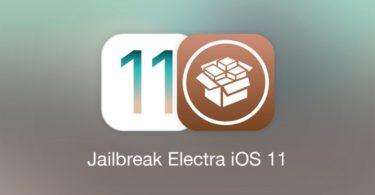 jailbreak electra ios 11 avec cydia
