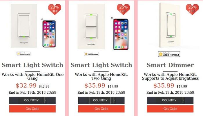 promotion smart light switch koogeek