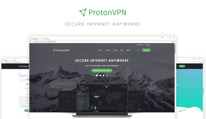 protonvpn acces internet securise