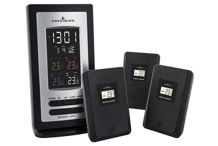 thermometre precision radio controle