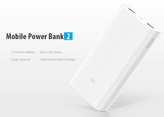 xiaomi mi power bank 2