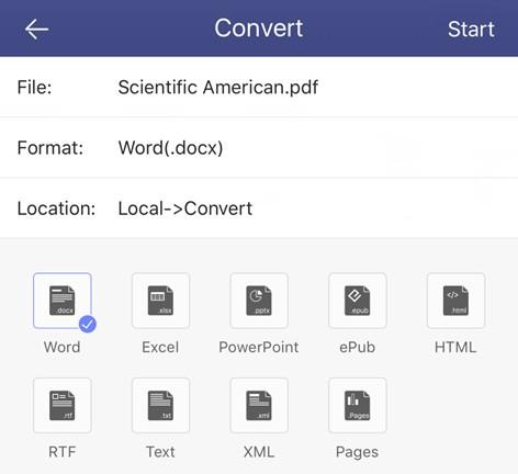 convertir pdf en word excel powerpoint