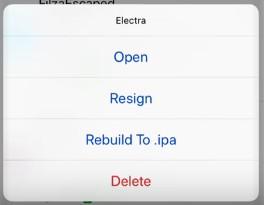 Ext3nder Installer vous permet de re-signer les IPA sans ordinateur