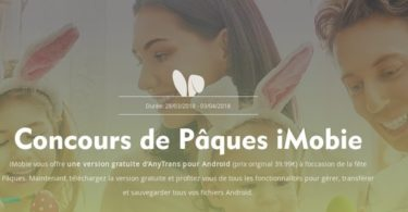 imobie anytrans android grattuit paques