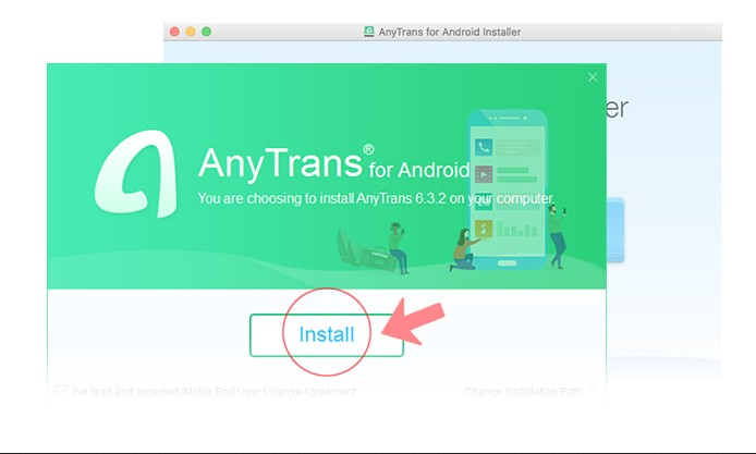 installer gratuitemet logiciel anytrans android mac ou windows