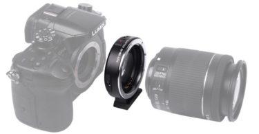 lentille adaptateur viltrox pour canon