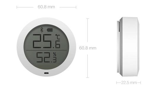xiaomi mijia bluetooth capteur humidite et temperature