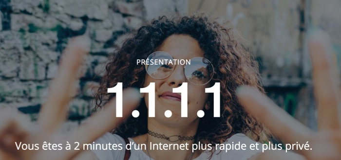 dns cloudflare internet plus rapide et prive