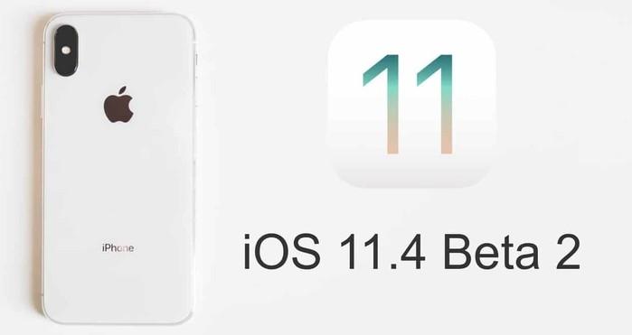 ios 11.4 beta 2 pour developpeurs et testeurs publics