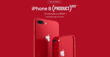 iphone 8 special edition rouge