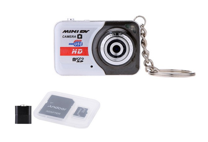 promotion ultra mini camera hd x6