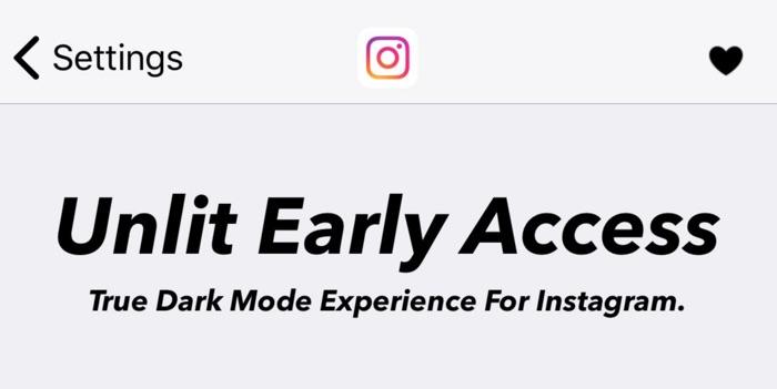 tweak unlit dark mode instagram