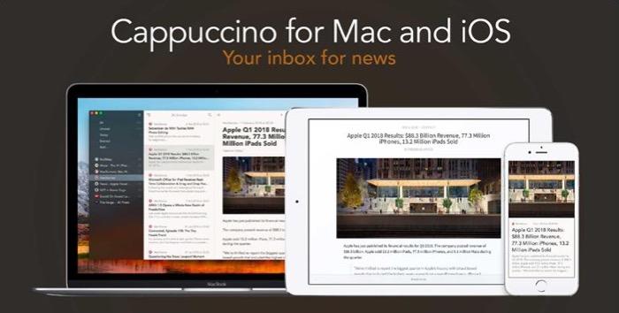 CappuccinoApp pour ios et mac