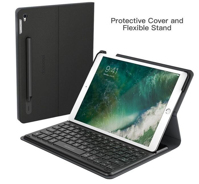 housse avec clavier smart connector pour ipad pro